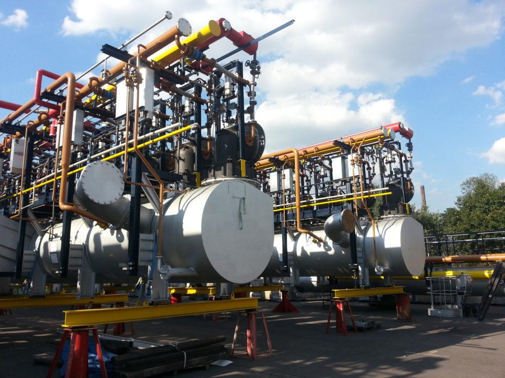 Instalacje obiektów elektrowni i elektrocieplowni